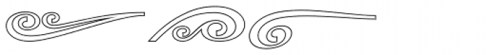 Rothe Elements Outline Font UPPERCASE