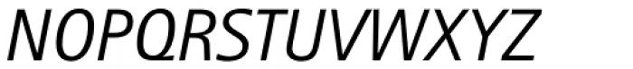 Rotis II Sans Std Italic Font UPPERCASE