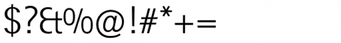 Rotis Sans Serif Std 45 Light Font OTHER CHARS