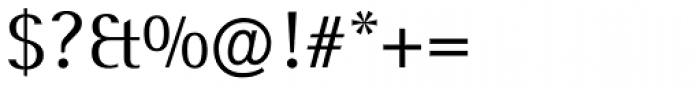 Rotis Semi Serif Paneuropean W1G Font OTHER CHARS