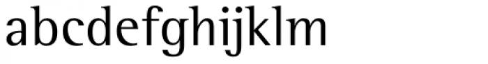 Rotis Semi Serif Paneuropean W1G Font LOWERCASE