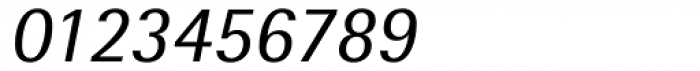 Rotis SemiSans Italic Font OTHER CHARS