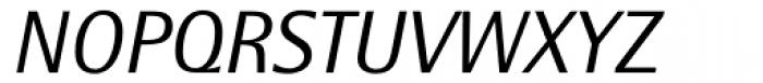 Rotis SemiSans Italic Font UPPERCASE