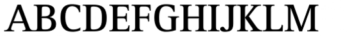 Rotis Serif Pro 65 Greek Bold Font UPPERCASE