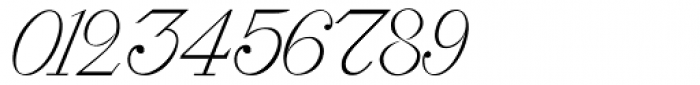 Roto Script Font OTHER CHARS