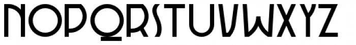 Rotorua Font UPPERCASE