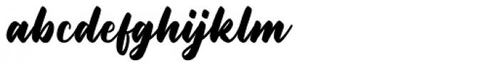 Rottweiler Regular Font LOWERCASE