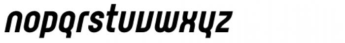 Rotundus Black Italic Font LOWERCASE