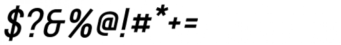 Rotundus Bold Italic Font OTHER CHARS