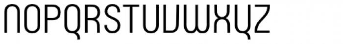 Rotundus Font UPPERCASE
