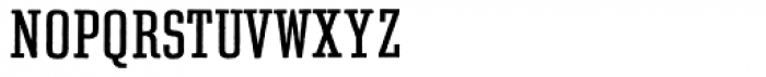 Rough Egyptienne Font UPPERCASE