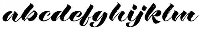 Rough Love Font LOWERCASE