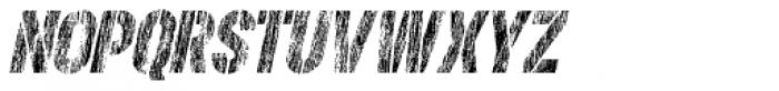 Rough Stuff Italic Font UPPERCASE