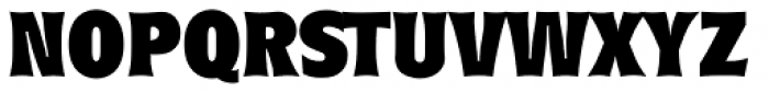 Roundest Serial Heavy Font UPPERCASE
