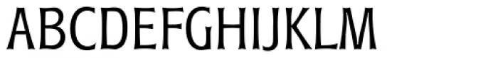 Roundest Serial Light Font UPPERCASE