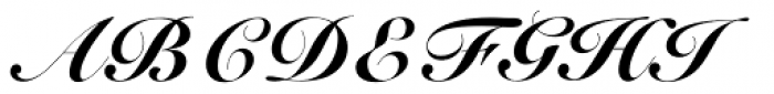 Roundhand BT Black Font UPPERCASE