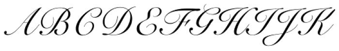 Roundhand BT Font UPPERCASE