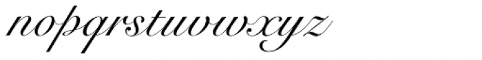 Roundhand BT Font LOWERCASE