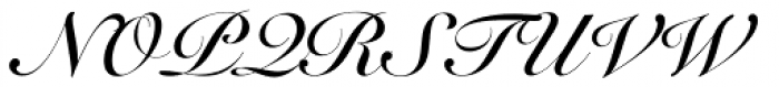 Roundhand Bold Font UPPERCASE