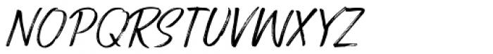 Route Du Soleil Italic Font UPPERCASE