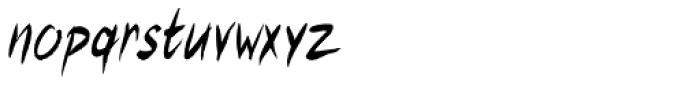 Rover Pro Regular Font LOWERCASE