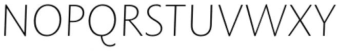 Rowton Sans FY Thin Italic Font UPPERCASE