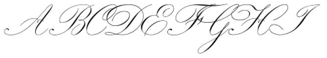 Royal Classic Light Font UPPERCASE