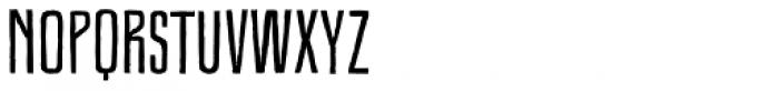 Royal Oak Sans Normal Font UPPERCASE