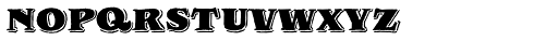 Royal Oak Serif Font UPPERCASE