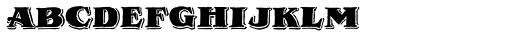 Royal Oak Serif Font LOWERCASE