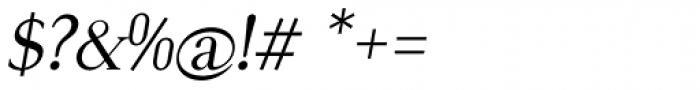 Royal Romain Italic Font OTHER CHARS
