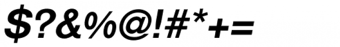 Royal Sans Bold Italic Font OTHER CHARS