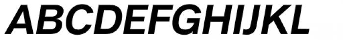 Royal Sans Bold Italic Font UPPERCASE