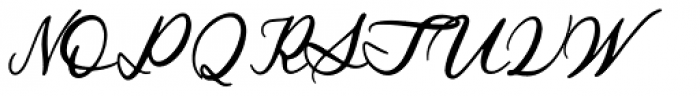 Royal Stamford Regular Font UPPERCASE