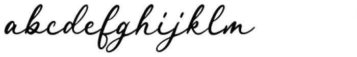 Royal Stamford Regular Font LOWERCASE