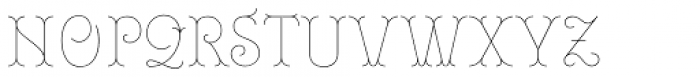 Royale 10 Font UPPERCASE