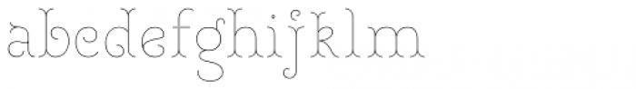 Royale 10 Font LOWERCASE