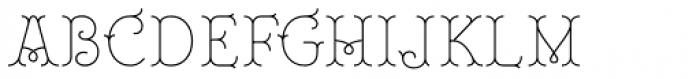 Royale 20 Font UPPERCASE