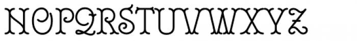 Royale 45 Font UPPERCASE