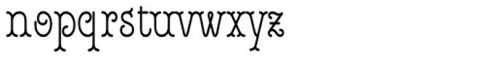 Royale Cm 45 Font LOWERCASE