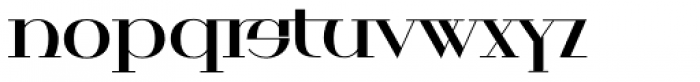 Royalty Chubby Font LOWERCASE