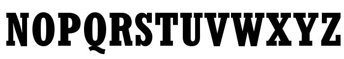 RockwellStd-BoldCondensed Font UPPERCASE