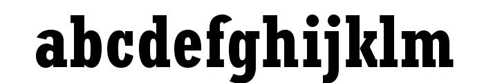 RockwellStd-BoldCondensed Font LOWERCASE