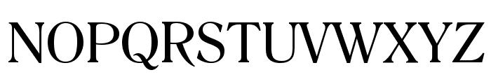 Romana BT Font UPPERCASE