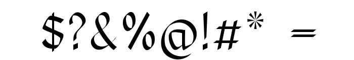 RoyalOak Font OTHER CHARS
