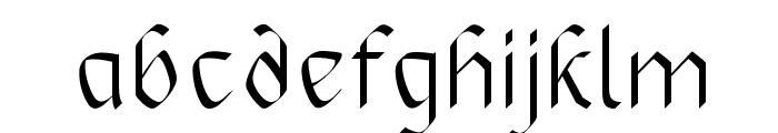 RoyalOak Font LOWERCASE