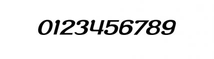 Roppongi Oblique Font OTHER CHARS