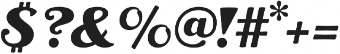 RP Aloe Text ExtraBold otf (700) Font OTHER CHARS