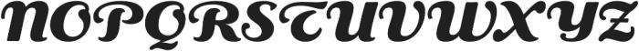 RP Aloe Text ExtraBold otf (700) Font UPPERCASE