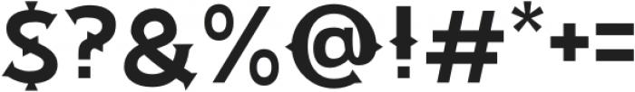 RP Florica Regular otf (400) Font OTHER CHARS